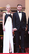Carey Mulligan  & Justin Timberlake attends the 'Inside Llewyn Davis' Red Carpet during the 66th Annual Cannes Film Festival at the Palais des Festivals on May 19, 2013 in Cannes, France.