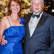 NLD/Amsterdam/20161013 - Televiziergala 2016, Roelof Hemmen en partner