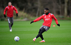 Lincoln City's Tayo Edun during a training session at the BMW Soper of Lincoln Elite Performance Centre, Scampton, Lincolnshire.<br /> <br /> Picture: Chris Vaughan Photography for Lincoln City FC<br /> Date: February 4, 2020