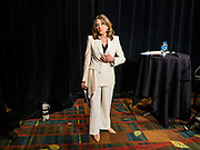 09 JUNE 2019 - CEDAR RAPIDS, IOWA: Author MARIANNE WILLIAMSON waits to speak at the Iowa Democrats 2019 Hall of Fame Celebration in the Cedar Rapids Convention Center. Nineteen of the Democratic candidates for president in 2020 spoke at the annual event. Iowa traditionally hosts the the first election event of the presidential election cycle. The Iowa Caucuses will be on Feb. 3, 2020.                          PHOTO BY JACK KURTZ