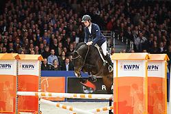 Bles Bart (NED) - Farfan M<br /> KWPN Stallion Selection - 's Hertogenbosch 2014<br /> © Dirk Caremans