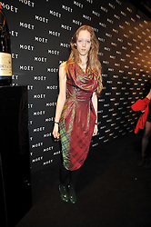 MORWENNA LYTTON COBBOLD at the Moet & Chandon Tribute to Cinema party held at the Big Sky Studios, Brewery Road, London N7 on 24th March 2009.