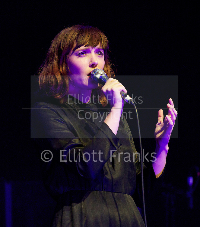Sarah Blasko <br /> live at The Barbican Hall, Barbican, London, Great Britain <br /> 11th April 2013 <br /> <br /> Sarah Elizabeth Blaskow is an Australian singer-songwriter and musician. Blasko developed her solo career after fronting Sydney-based band, Acquiesce, between the mid-1990s and 2002.<br /> <br /> Photograph by Elliott Franks