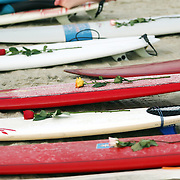 Paddle-out in memory of Molly Rowlee, at Wrightsville Beach, NC. The event also helped support the Molly Fund  a non-profit dedicated to helping children with lymphoma and their families.