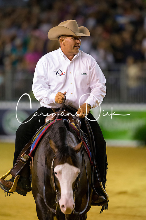 Shawn Flarida, (USA), Spooks Gotta Whiz - Individual Final Comptetition - Alltech FEI World Equestrian Games™ 2014 - Normandy, France.<br /> © Hippo Foto Team - Leanjo De Koster<br /> 30-08-14