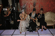 Tetyana Piskum, Anna Ilnytska and Mafa Mazur, The Moet and Chandon Fashion Tribute 2006 Honouring British Photographer Nick Knight. Strawberry Hill House. Twickenham. 24 October 2006. -DO NOT ARCHIVE-© Copyright Photograph by Dafydd Jones 66 Stockwell Park Rd. London SW9 0DA Tel 020 7733 0108 www.dafjones.com