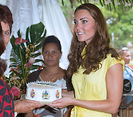 "CATHERINE, DUCHESS OF CAMBRIDGE .attends a reception for women of the Solomon Islands during the Pacific Festival of Arts, Honiara_17/09/2012.Mandatory credit photo: ©Rooke-DIASIMAGES..""NO UK USE FOR 28 DAYS"" ..(Failure to credit will incur a surcharge of 100% of reproduction fees)..                **ALL FEES PAYABLE TO: ""NEWSPIX INTERNATIONAL""**..IMMEDIATE CONFIRMATION OF USAGE REQUIRED:.DiasImages, 31a Chinnery Hill, Bishop's Stortford, ENGLAND CM23 3PS.Tel:+441279 324672  ; Fax: +441279656877.Mobile:  07775681153.e-mail: info@newspixinternational.co.uk"