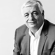 Didier bremond, maire, brignoles, var, portrait d'artiste, photographie, photo, reportage photo,<br /> studio portrait, noir et blanc, black and white, image, visuel, &eacute;clairage,