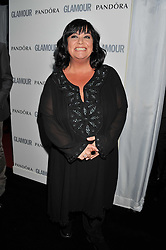 DAWN FRENCH at the Glamour Women of The Year Awards 2011 held in Berkeley Square, London W1 on 7th June 2011.