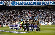 De to hold stiller op før kampen i UEFA Europa League mellem FC København og FC Lugano den 19. september 2019 i Telia Parken (Foto: Claus Birch).