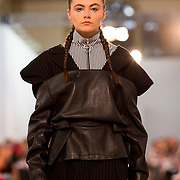 11.05. 2017.                                                 <br /> A model wears designs by Jessica Flatman, titled The Rebirth of Venus at Limerick School of Art & Design, LIT, the LSAD 360°Fashion Show, sponsored by AIB. Picture: Alan Place