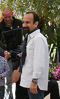 Director, Asghar Farhadi, Le Passé (The Past) film photocall at the Cannes Film Festival 17th May 2013