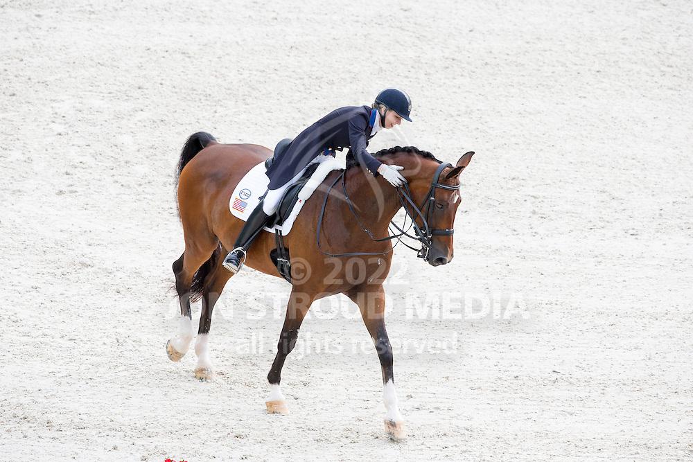 Laura Graves, (USA), Verdades - Grand Prix Team Competition Dressage - Alltech FEI World Equestrian Games&trade; 2014 - Normandy, France.<br /> &copy; Hippo Foto Team - Leanjo de Koster<br /> 25/06/14