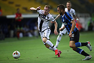 Parma Calcio's Swedish midfielder Dejan Kulusevski is hounded by Inter's Dutch defender Stefan de Vrij during the Serie A match at Stadio Ennio Tardini, Parma. Picture date: 28th June 2020. Picture credit should read: Jonathan Moscrop/Sportimage