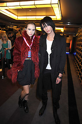 NAT WELLER and SUKI ALICE at the launch of Nokia's 'Comes With Music' held at the Bloomsbury Ballroom, 37-63 Bloomsbury Square, London WC1 on 21st October 2008.