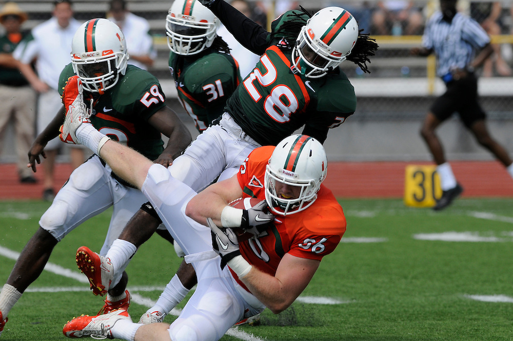 2011 Miami Hurricanes Spring Football @ Traz-Powell