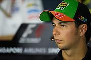 September 18-21, 2014 : Singapore Formula One Grand Prix - Sergio Perez (MEX), Force India-Mercedes