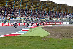 16.04.2016, TT Circuit, Assen, NED, MOTUL FIM Superbike World Championship, Assen, im Bild # 7 Chaz Davies ( GBR ) Ducati, #66 Tom Sykes ( GBR ) Kawasaki, #60 Michael vd Mark ( NLD ) Honda // during the MOTUL FIM Superbike World Championship at the TT Circuit in Assen, Netherlands on 2016/04/16. EXPA Pictures © 2016, PhotoCredit: EXPA/ Eibner-Pressefoto/ FSA<br /> <br /> *****ATTENTION - OUT of GER*****