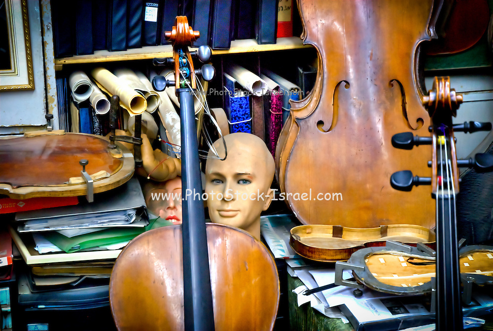 Violin repair workshop