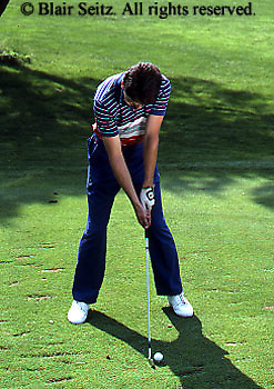 Golf, Pennsylvania Outdoor recreation, Young Adult Male Plays Golf