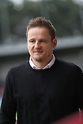 AFC Wimbledon manager Neal Ardley during the EFL Sky Bet League 1 match between AFC Wimbledon and Walsall at the Cherry Red Records Stadium, Kingston, England on 25 February 2017. Photo by Stuart Butcher.