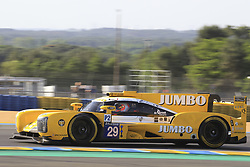 June 4, 2017 - Le Mans, France - 29 RACING TEAM NEDERLAND (NDL) DALLARA P217 GIBSON LMP2 JAN LAMMERS (NLD) FRITS VAN EERD (NLD) RUBENS BARRICHELLO  (Credit Image: © Panoramic via ZUMA Press)