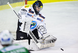 29.01.2013, Hala Tivoli, Ljubljana, SLO, EBEL, HDD Olimpija Ljubljana vs Dornbirner Eishockey Club, 4. Qualifikationsrunde, im Bild Patric DesRochers (Dornbirner Eishockey Club, #37) // during the Erste Bank Icehockey League 4th Qualification Round match between HDD Olimpija Ljubljana and Dornbirner Eishockey Club at the Hala Tivoli, Ljubljana, Slovenia on 2013/01/29. EXPA Pictures © 2013, PhotoCredit: EXPA/ Sportida/ Matic Klansek Velej..***** ATTENTION - OUT OF SLO *****