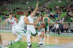 Marko Josilo of KK Krka during basketball match between KK Petrol Olimpija and KK Krka in 1st Final game of Liga Nova KBM za prvaka 2017/18, on May 19, 2018 in Arena Stozice, Ljubljana, Slovenia. Photo by Urban Urbanc / Sportida