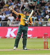 Rilee Rossouw of South Africa during the 2016 T20 International Series match between South Africa and Australia in Kingsmead Stadium Durban, Kwa-Zulu Natal on 04 March 2016©Muzi Ntombela/Backpagepix