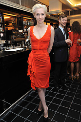 PORTIA FREEMAN at a brunch hosted by Zac Posen to launch the Belvedere Bloody Mary Brunch held at Le Caprice, 25 Arlington Street, London on 7th April 2011.