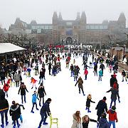 December 30, 2016 - 13:35<br /> The Netherlands, Amsterdam - Museumplein