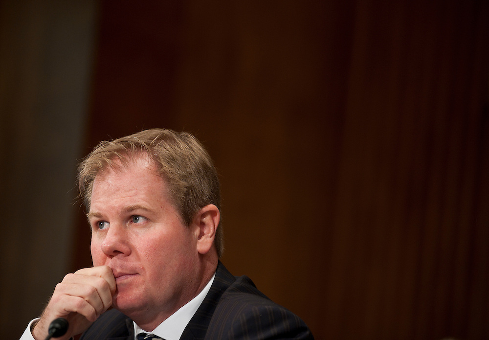 """Jul 27, 2010 - Washington, District of Columbia, U.S., -.Dr. DAVID KILCULLEN, Non-Resident Senior Fellow and former Senior Fellow at the Center for a New American Security, testifies before a Senate Foreign Relations Committee hearing on the """"Perspectives on Reconciliation Options in Afghanistan.""""(Credit Image: © Pete Marovich/ZUMA Press)"""
