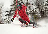 Former GSC Alumni, Warner Nickerson, comes to Gunstock to train and race along with the Gunstock Ski Club, Gilford, NH.