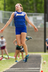 Maine State Track & Field Meet, Class B: girls long jump, Kate Hall, Lake Region, sets state record