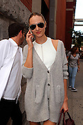 Sept. 11, 2014 - New York, NY, United States - <br /> <br /> Marc Jacobs arrivals<br /> <br /> Candice Swanepoel arrives at the Marc Jacobs fashion show during Mercedes-Benz Fashion Week Spring 2015 at Park Avenue Armory on September 11, 2014 in New York City<br /> ©Exclusivepix