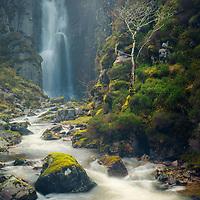 Wailing Widow Falls, Unapool, Sutherland
