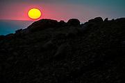 Sunrise on Pikes Peak, PPIHC 2012. Photo Credit: Jamey Price