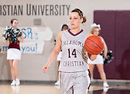 February 24, 2011: The St. Gregory's University Lady Cavaliers play against the Oklahoma Christian University Lady Eagles at the Eagles Nest on the campus of Oklahoma Christian University.