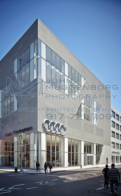 Image Of The Audi Terminal Dealership In New York City New York - Audi of manhattan