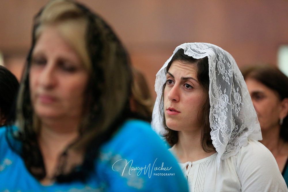 Chaldeans and the Chaldean Catholic churches of El Cajon, Calif., Aug. 14, 2015.  (Nancy Wiechec for ONE magazine)
