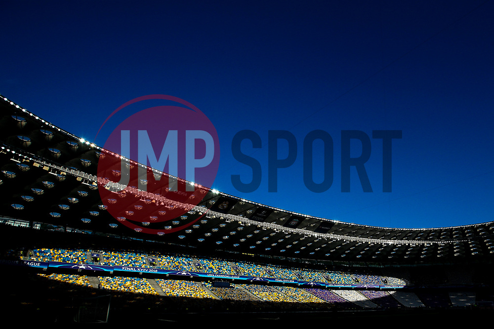 A general view of the Olympic Stadium in Kiev ahead of the Champions League Final between Real Madrid and Liverpool - Mandatory by-line: Robbie Stephenson/JMP - 26/05/2018 - FOOTBALL - Olympic Stadium - Kiev,  - Real Madrid v Liverpool - UEFA Champions League Final