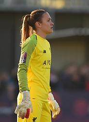 Anke Preuss of Liverpool Women - Mandatory by-line: Paul Knight/JMP - 17/11/2018 - FOOTBALL - Stoke Gifford Stadium - Bristol, England - Bristol City Women v Liverpool Women - FA Women's Super League 1