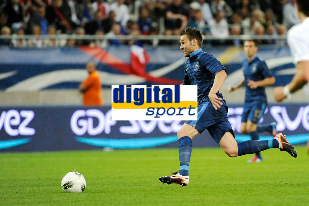 FOOTBALL - FRIENDLY GAME 2012 - FRANCE v SERBIA - REIMS (FRANCE) - 31/05/2012 - PHOTO JEAN MARIE HERVIO / REGAMEDIA / DPPI - YOHAN CABAYE (FRA)
