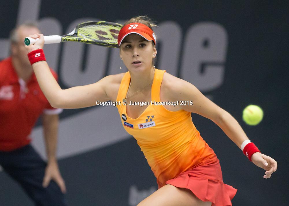BELINDA BENCIC (SUI)<br /> <br /> Tennis - Ladies Linz 2016 - WTA -  TipsArena  - Linz - Oberoesterreich - Oesterreich - 12 October 2016. <br /> &copy; Juergen Hasenkopf