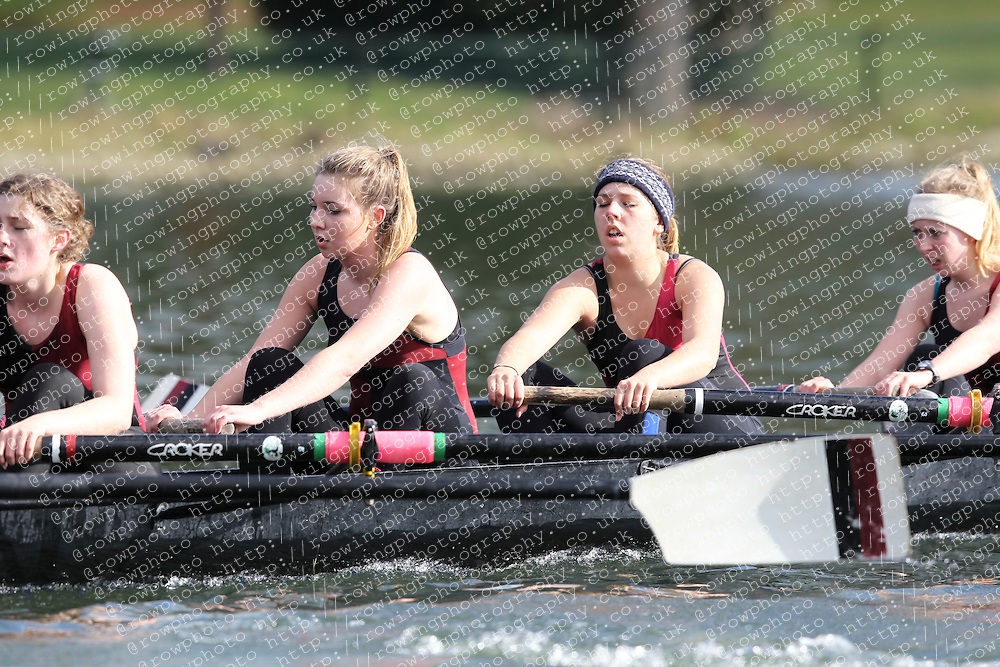2012.02.25 Reading University Head 2012. The River Thames. Division 1. Bristol University Boat Club WNov 8+