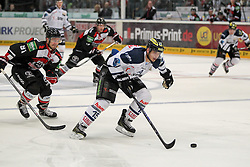 19.10.2014, LANXESS Arena, Köln, GER, DEL, Kölner Haie vs ERC Ingolstadt, 12. Runde, im Bild John Laliberte (ERC Ingolstadt), Koelner Haie - ERC Ingolstadt am 19.10.2014 in der Lanxess-Arena in Koeln (Nordrhein-Westfalen). // during Germans DEL Icehockey League 12 th round match between Cologne Haie and ERC Ingolstadt at the LANXESS Arena in Köln, Germany on 2014/10/19. EXPA Pictures © 2014, PhotoCredit: EXPA/ Eibner-Pressefoto/ Kohring_Fuss<br /> <br /> *****ATTENTION - OUT of GER*****