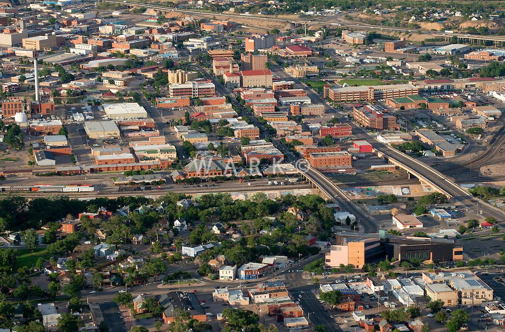 Pueblo, Colorado.  Mesa Junction and Historic District. June 2014. 85716
