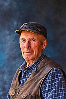 Georgie, Svanetie, la Haute Svanetie, Ushguli, village le plus haut de l'Europe, portrait d'un habitant // Georgia, Svaneti, Ushguli, man from Ushguli