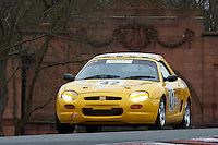 #42 F Simon KENDRICK MG F VVC 1800 during Lancaster Insurance MG Owners Club Championship as part of the BARC NW - Championship Raceday  at Oulton Park, Little Budworth, Cheshire, United Kingdom. March 19 2016. World Copyright Peter Taylor/PSP. Copy of publication required for printed pictures.  Every used picture is fee-liable. http://archive.petertaylor-photographic.co.uk