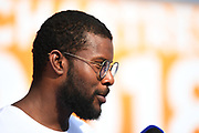 Mehdy Metella (FRA) on press conference during the French Open 2018, at Aquatic Center Odyssée in Chartres, France on July 7th to 8th, 2018 - Photo Stephane Kempinaire / KMSP / ProSportsImages / DPPI